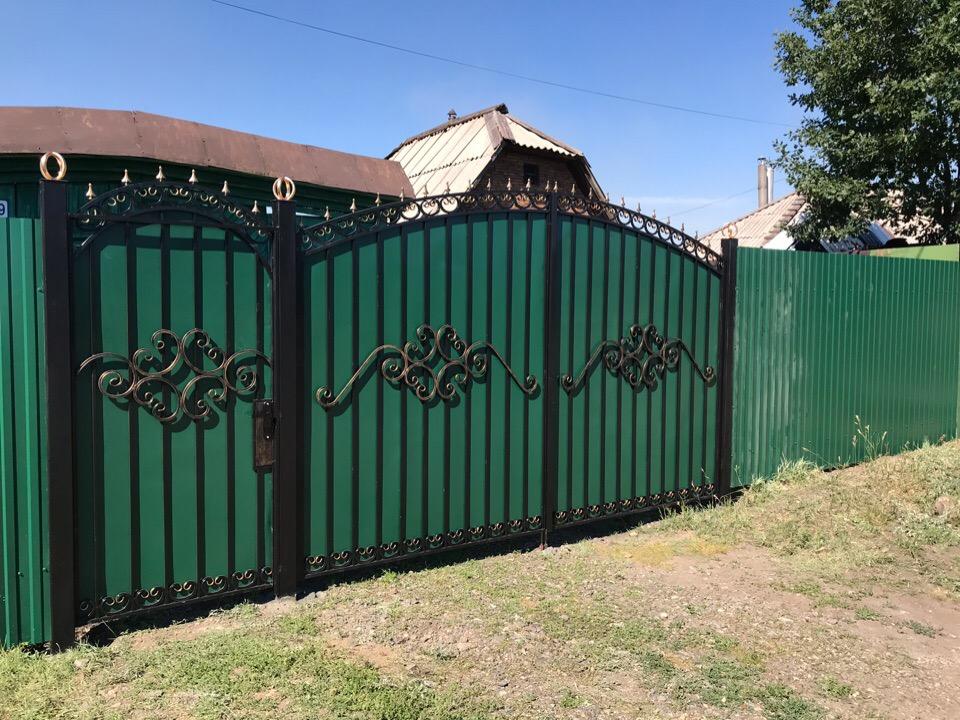Металлические ворота и калитки в Магнитогорске