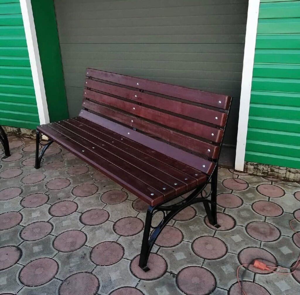 Ограды, скамейки