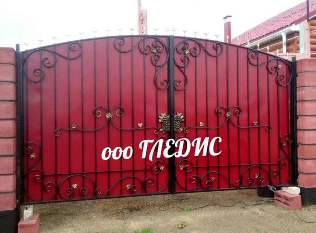 Ворота металлические в пос. Кизильское и Кизильском районе с рассрочкой платежа