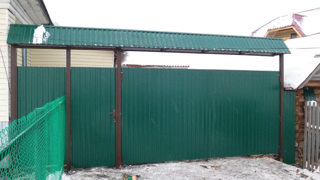Ворота и калитки в Белорецке в рассрочку. Работаем по Белорецкому району