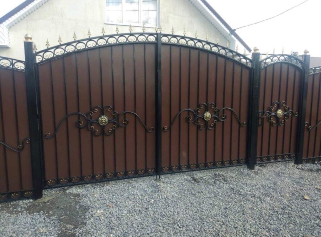 Устанавливаем кованые ворота и калитки в Агаповке и Агаповском районе в рассрочку